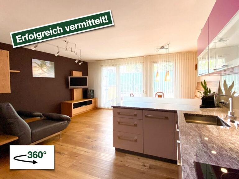 Vollmöblierte 3-Zimmer-Wohnung mit Garten in Innsbruck/Hötting