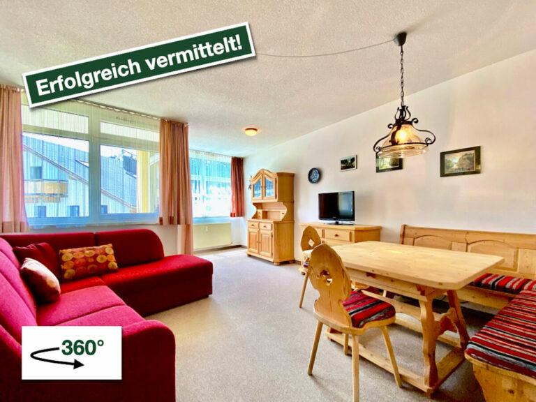 Helle 2-Zimmer-Wohnung in zentraler Lage von Leutasch